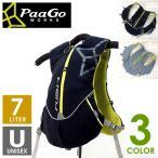 PaaGo WORKS パーゴワークス RUSH7 ラッシュ7 メンズ・レディース ザック・バックパック(7L) トレイルランニング リュックサック バッグ
