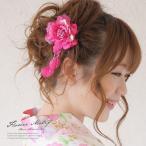 髪飾り 花 フラワー 成人式振袖髪飾り 卒業式袴髪飾り 花 和柄 コサージュ 浴衣向け 和風