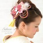 ショッピング卒業式 髪飾り 2個セット 成人式振袖髪飾り 卒業式袴髪飾り ピンク 桜