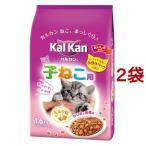 カルカン ドライ 12ヶ月までの子ねこ用 かつおと野菜味 ミルク粒入り ( 1.6kg*2コセット )/ カルカン(kal kan)