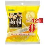 ぷるんと蒟蒻ゼリー 新パウチ 0kcaL グレープフルーツ ( 18g*6コ入*12コセット )/ ぷるんと蒟蒻ゼリー