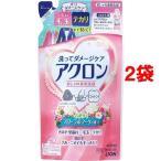 アクロン フローラルブーケの香り 詰替え ( 400mL*2コセット )/ アクロン ( おしゃれ着 洗剤 液体洗剤 衣類用 詰め替え )