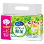 シルコット 除菌ウェットティッシュ ノンアルコールタイプ つめかえ用 ( 45枚*8コ入*4コセット )/ シルコット