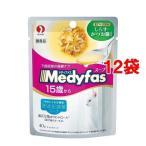 メディファス スープパウチ 15歳から 長寿猫用 しらす かつお節入り ( 40g*12コセット )/ メディファス
