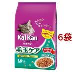 カルカン ドライ 毛玉ケア かつおとチキン味 ( 1.6kg*6コセット )/ カルカン(kal kan)
