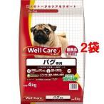 ウェルケア パグ専用 ( 4kg*2コセット )/ ウェルケア(WellCare)