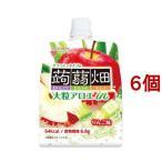 大粒アロエinクラッシュタイプの蒟蒻畑 りんご味 ( 150g*6個セット )/ 蒟蒻畑