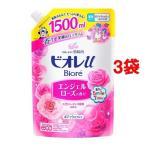 ビオレu エンジェルローズの香り つめかえ用 ( 1.5L*3コセット )/ ビオレU(ビオレユー)
