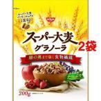日清シスコ スーパー大麦グラノーラ ( 200g*2コセット )