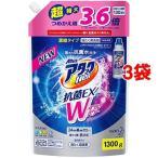 アタックNeo 抗菌EX Wパワー つめかえ ( 1300g*3コセット )/ アタックNeo 抗菌EX Wパワー