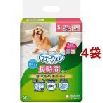 ショッピングオムツ マナーウェア 高齢犬用 男の子用 おしっこオムツ Sサイズ ( 42枚入*4コセット )/ マナーウェア
