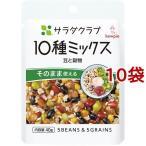サラダクラブ 10種ミックス 豆と穀物 ( 40g*10コ )/ サラダクラブ