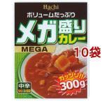 メガ盛りカレー 中辛 ( 300g*10コ )/ Hachi(ハチ)