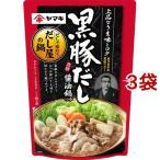 ヤマキ 黒豚だし 醤油鍋つゆ ( 700g*3コセット )/ ヤマキ