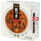 KK 缶つま 有明産 赤貝どて煮風 山椒入り ( 70g*3コセット )/ K&K 缶つま ( 缶詰 )