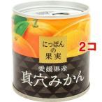 にっぽんの果実 愛媛県産 真穴みかん ( 110g*2コセット )/ にっぽんの果実