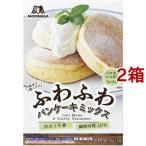 森永 ふわふわパンケーキミックス 6枚分 ( 80g*2袋入*2コセット )