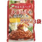 三育フーズ トマトソース野菜大豆バーグ ( 100g*3コセット )