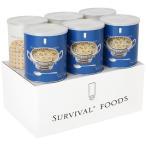 サバイバルフーズ チキンシチューのファミリーセット(60食相当) ( 大缶6缶入 )/ サバイバルフーズ
