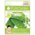 ピュアスマイル エッセンスマスク8枚セット アロエ ( 1セット )/ ピュアスマイル(Pure Smile)