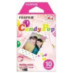 フジフイルム インスタントカラーフィルム インスタックス ミニ キャンディーポップ ( 1パック(10枚入) )/ チェキ