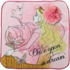 眠れる森の美女 ピンクコサージュ タオルハンカチ ( 1枚入 ) ( ベビー用品 )