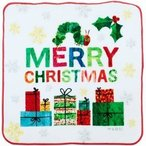 林 はらぺこあおむし クリスマス プチタオル PE453300(1枚入)