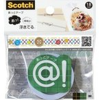 スコッチ あっとテープ 18mm幅 ボタン ATM18-09 ( 1巻 )