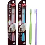 ショッピング歯ブラシ 歯ブラシ職人 田辺重吉の磨きやすい歯ブラシ LT-02 毛先が細 ( 12本入 )