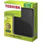 東芝 外付けハードディスク CANVIO BASICS 1TB ブラック HD-AC10TK ( 1コ入 )/ 東芝(TOSHIBA)