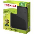 東芝 外付けハードディスク CANVIO BASICS 2TB ブラック HD-AC20TK ( 1コ入 )/ 東芝(TOSHIBA)
