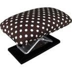 正座椅子 楽々 ワイドタイプ 携帯用 ドット柄 20120 ( 1コ入 )