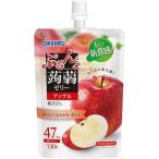 ぷるんと蒟蒻ゼリー スタンディング アップル 130g 8コ入 パウチ