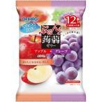 ぷるんと蒟蒻ゼリー パウチ アップル+グレープ ( 20g*12コ入 )/ ぷるんと蒟蒻ゼリー