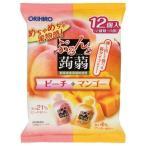 ぷるんと蒟蒻ゼリー パウチ ピーチ+マンゴー ( 20g*12コ入 )/ ぷるんと蒟蒻ゼリー