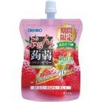 ぷるんと蒟蒻ゼリー スタンディング スリムカット イチゴ ( 130g )/ ぷるんと蒟蒻ゼリー