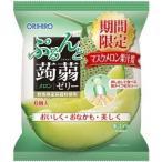 ぷるんと蒟蒻ゼリーパウチ メロン ( 6コ入 )/ オリヒロ