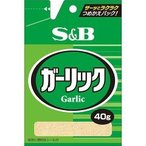 S&B 袋入り ガーリック ( 40g )