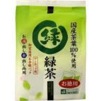 ワンカップ用 徳用緑茶 ティーバッグ ( 2g*40袋入 ) ( お茶 )