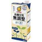 マルサン 有機豆乳 無調整 ( 1L*6本入 ) ( 豆乳 )