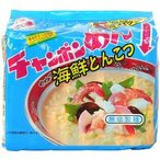 イトメン チャンポンめん 海鮮とんこつ ( 5食入 )