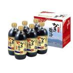 アサムラサキ かき醤油濃厚つゆ ( 600mL*6本入 )/ アサムラサキ