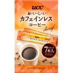 UCC おいしいカフェインレスコーヒー スティック ( 7本入 )