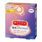 めぐりズム 蒸気でホットアイマスク 無香料 ( 5枚入 )/ めぐりズム