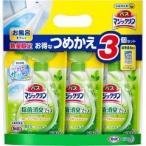 【在庫限り】バスマジックリン 除菌消臭プラス つめかえ用 3コ+マジピカ試供品 ( 1セット )/ バスマジックリン