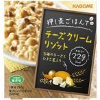 カゴメ 押し麦ごはんでチーズクリームリゾット ( 250g )/ 押し麦ごはんシリーズ ( レトルト インスタント食品 )
