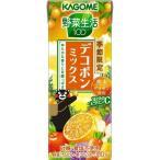カゴメ 野菜生活100 デコポンミックス ( 195mL*12本入 )/ 野菜生活
