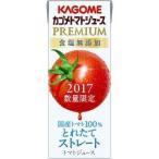 (企画品)カゴメ トマトジュース プレミアム 食塩無添加 ( 200mL*12本入 )/ カゴ...