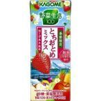 (訳あり)野菜生活100 とちおとめミックス ヨーグルト風味 ( 200mL*12本入 )/ 野菜生活