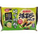 海苔ピーパック ゆず胡椒味 5袋詰 ( 82g )